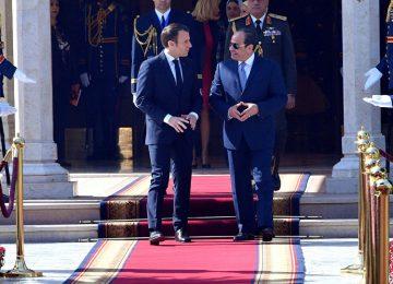"""ÖNCE İNSAN HAKLARI DİYEN MACRON'A SİSİ'DEN YANIT: """"MISIR'DA YILDA 1 MİLYON MEZUN, 2.5 MİLYON YENİ DÜNYAYA GELEN İÇİN NE YAPACAĞIZ, ONU SÖYLE."""""""