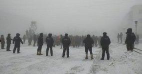 EKSİ 50 DERECEDE EYLEM..RUSYA'DA GÖZALTINA ALINANLARIN SAYISI 2 BİNE YÜKSELDİ
