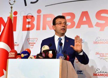 İMAMOĞLU'NDAN  AKP'NİN YENİDEN SEÇİM TALEBİNE VE BAHÇELİ'YE YANIT: AKIL TUTULMASI YAŞAMASINLAR