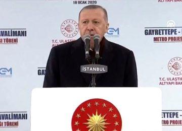 """PEKİ NEREDE KALDI SANDIKTAN ÇIKAN İRADE? ERDOĞAN: """"İSTANBUL'UN PROJELERİ BU ŞEHRİN MAHALLİ YÖNETİCİLERİNE BIRAKILMAYACAK KADAR BÜYÜKTÜR."""""""