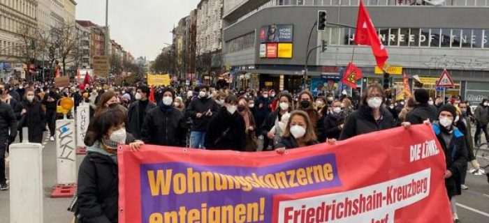 BERLİN'DE KİRA ARTIŞLARINA KARŞI 226 BİNDEN FAZLA KİRALIK DAİRENİN KAMUYA DEVRİ İSTENİYOR