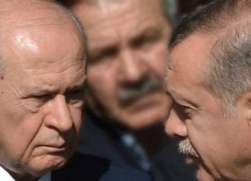 MHP ARTIK AKP'NİN ENSESİNDE