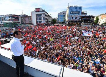 """""""KANAL İSTANBUL'U İNADINA YAPACAĞIZ"""" DİYE ERDOĞAN'A, İMAMOĞLU """"23 HAZİRAN"""" I HATIRLATTI"""