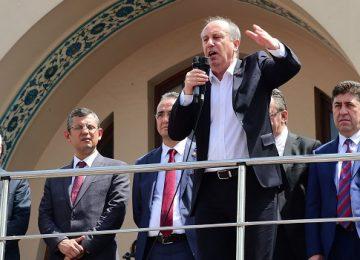 İNCE, ÖNCE DEMİRTAŞ'A GİDİYOR, ARDINDAN HAKKARİ'YE