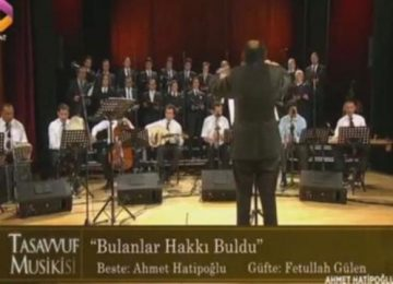 """""""BULANLAR HAKKI BULDU"""": TRT'DE GÜFTESİ FETHULLAH GÜLEN'E AİT İLAHİ YAYINLADI."""