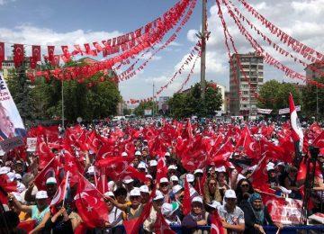 """""""DİYARBAKIR MİTİNGİNDE HDP'LİLER VARDI."""" DİYEN ERDOĞAN'A, İNCE'DEN YANIT: """"AKP'Lİ KARDEŞLERİM DE VARDI, KİMSEYİ DIŞLAMAYACAĞIZ, 81 MİLYONU KUCAKLAYACAĞIZ."""""""