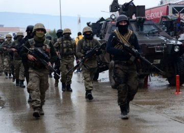 PKK-KCK OPERASYONUNDA ÇOK SAYIDA GÖZALTI
