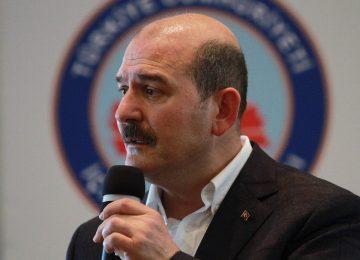 SÜLEYMAN SOYLU'DAN CHP VE HDP'YE SERT SÖZLER