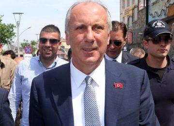 """MUHARREM İNCE: """"AKP, CHP YÖNETİMİNİN DEĞİŞMESİNİ İSTEMİYOR."""""""