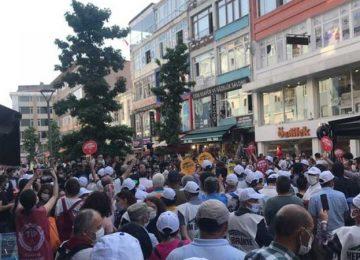HDP'NİN HAKKARİ VE EDİRNE'DEN ANKARA'YA BAŞLATTIĞI DEMOKRASİ YÜRÜYÜŞÜ 4. GÜNÜNÜ GERİDE BIRAKTI