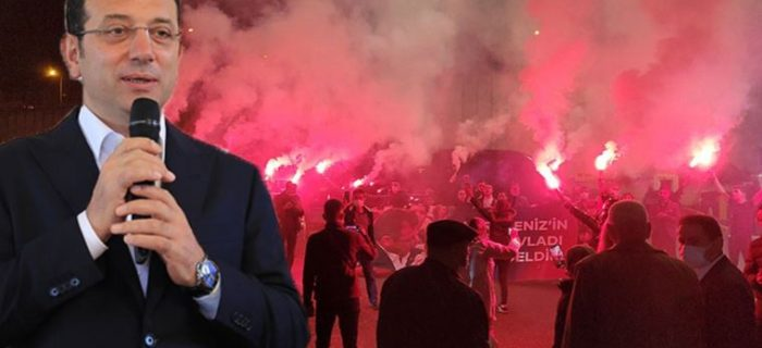 "SORU YİNE AYNI: CUMHURBAŞKANLIĞINA ADAY MISINIZ?..İMAMOĞLU'NA TRABZON'DA ""MİTİNG"" GİBİ KARŞILAMA.."
