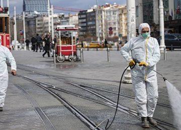 İSTANBUL'DA KORONAVİRÜS ENDİŞESİ