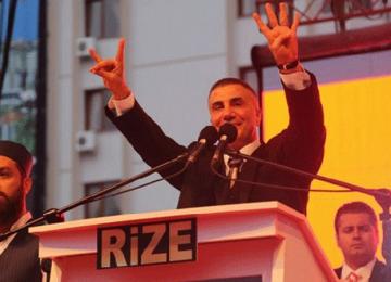 """SEDAT PEKER'DEN """"MİTİNG"""" PAYLAŞIMI: AK PARTİ İÇİN YAPTIM"""