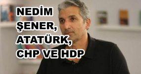 """NEDİM ŞENER'İN HDP HAKKINDAKİ SÖZLERİ NEDENİYLE """"ATATÜRK'ÜN ADINI KULLANIYORLAR"""" DEDİĞİ CHP'Lİ YILDIRIM KAYA'DAN YURTSEVERLİK.COM'A AÇIKLAMALAR"""