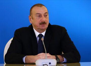 ALİYEV: BU NAMERT HAREKETLER AZERBAYCAN HALKININ İRADESİNİ KIRAMAYACAK