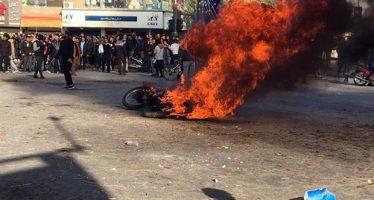 İRAN'DA AKARYAKITA YAPILAN ZAMLARI PROTESTO EYLEMLERİNDE ÖLENLERİN SAYISI 12'YE YÜKSELDİ